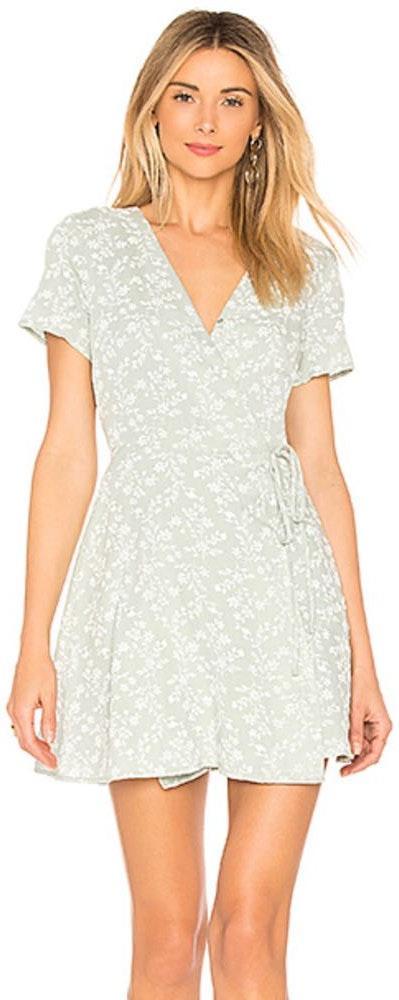 J.O.A Wrap Dress