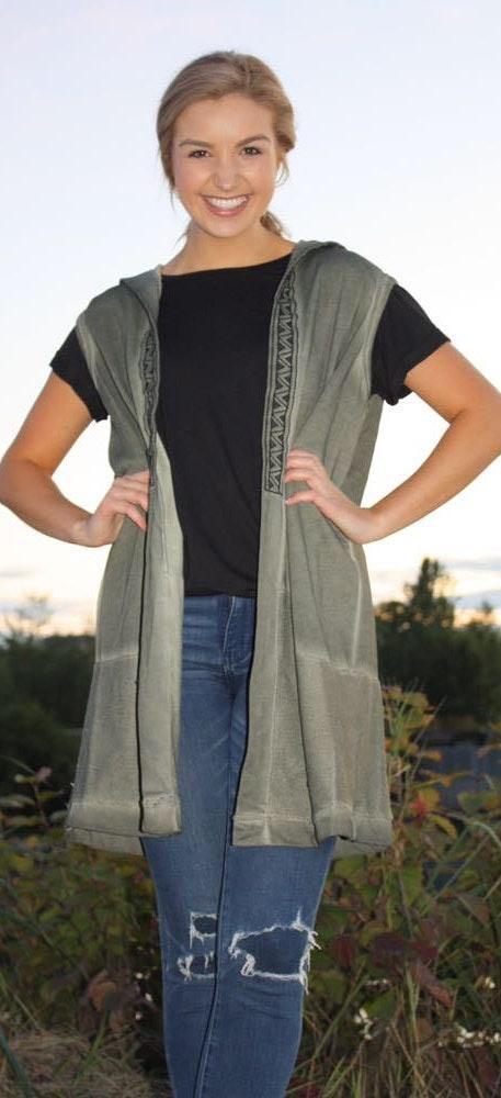 POL Sweatshirt Boho Vest