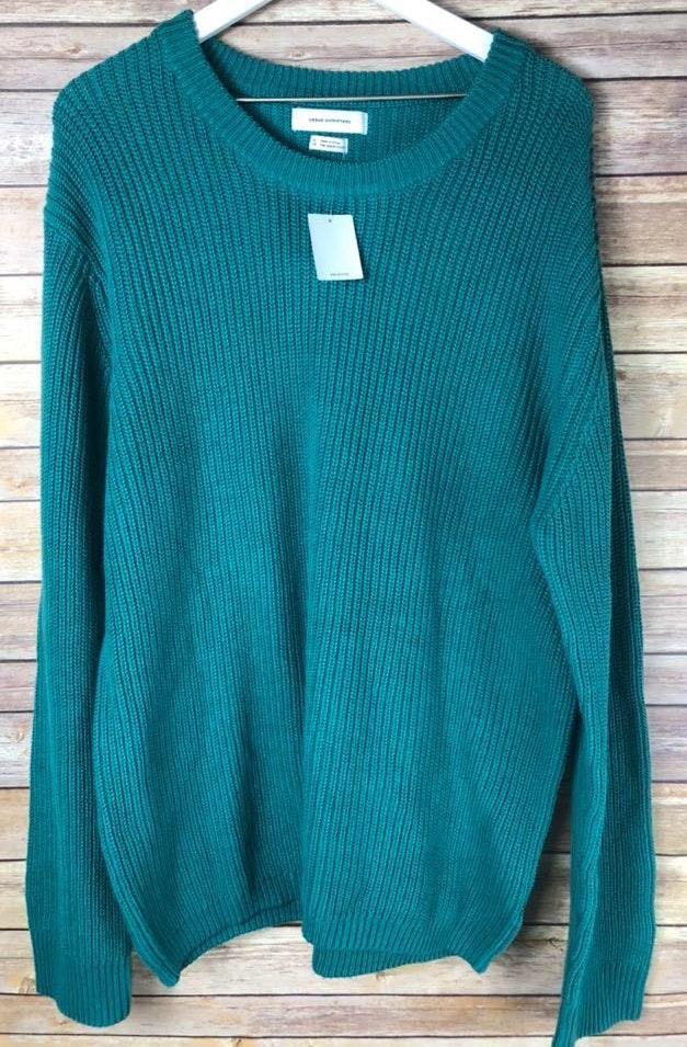 Urban Outfitters Teal Oversized Sweater