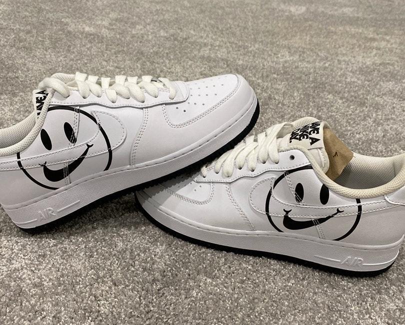 Nike custom air force 1s