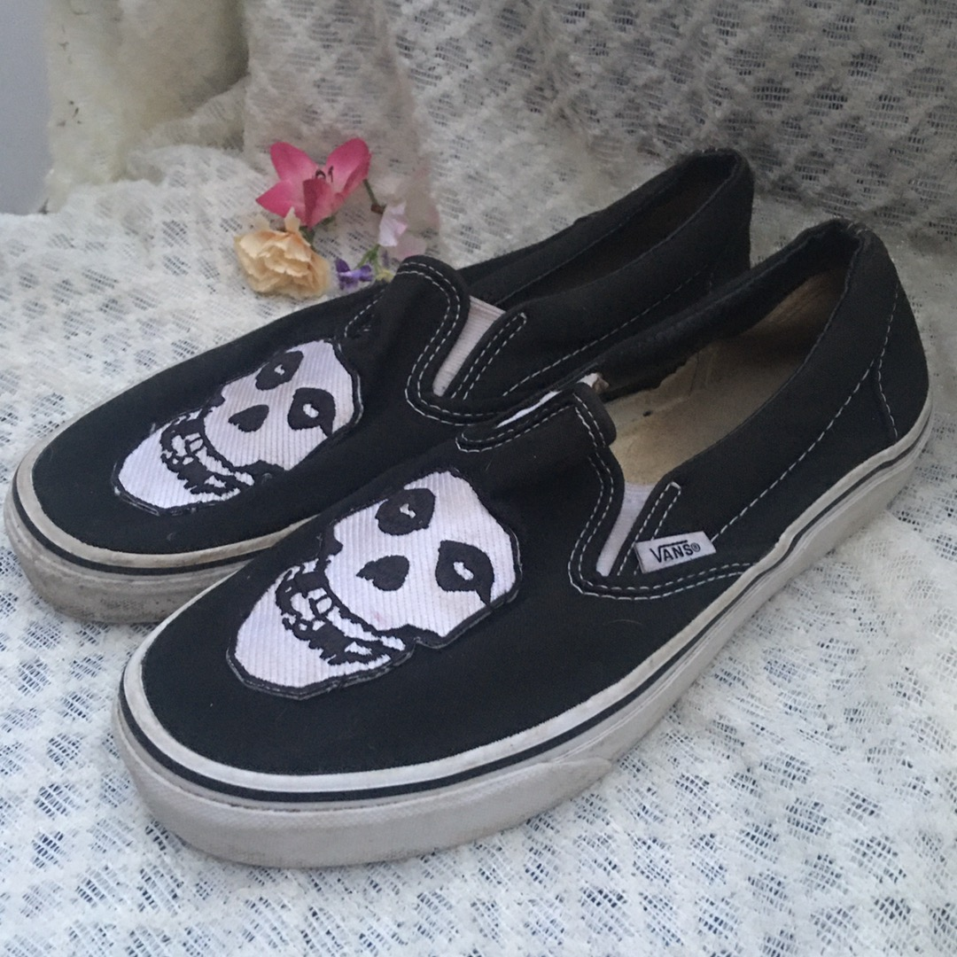 Vans Customized Slip Ons   Curtsy