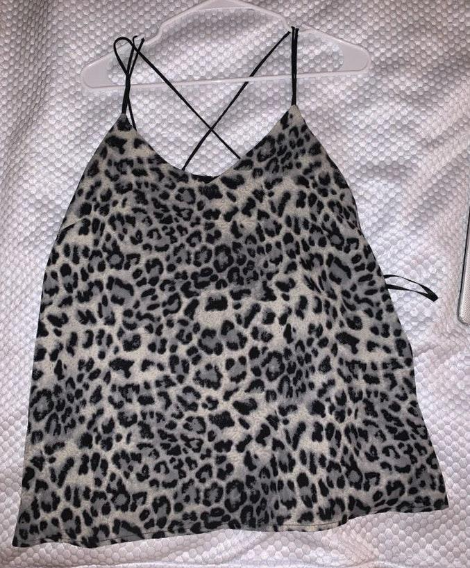 These Three Boutique Leopard Print Tank