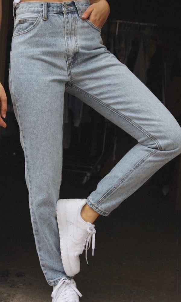 Brandy Melville Brandy Mellville Light Wash Jeans