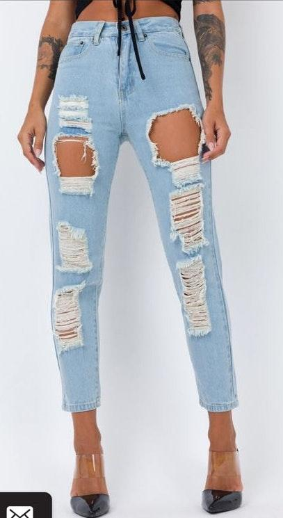Princess Polly Ivey Ripped Jeans