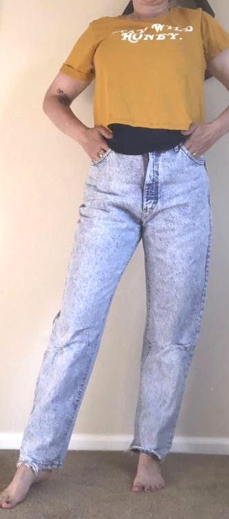 Lee Vintage Acid Washed Jeans
