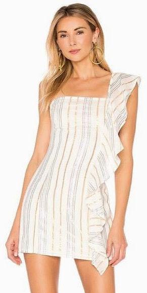 Tularosa Cait Metallic Dress