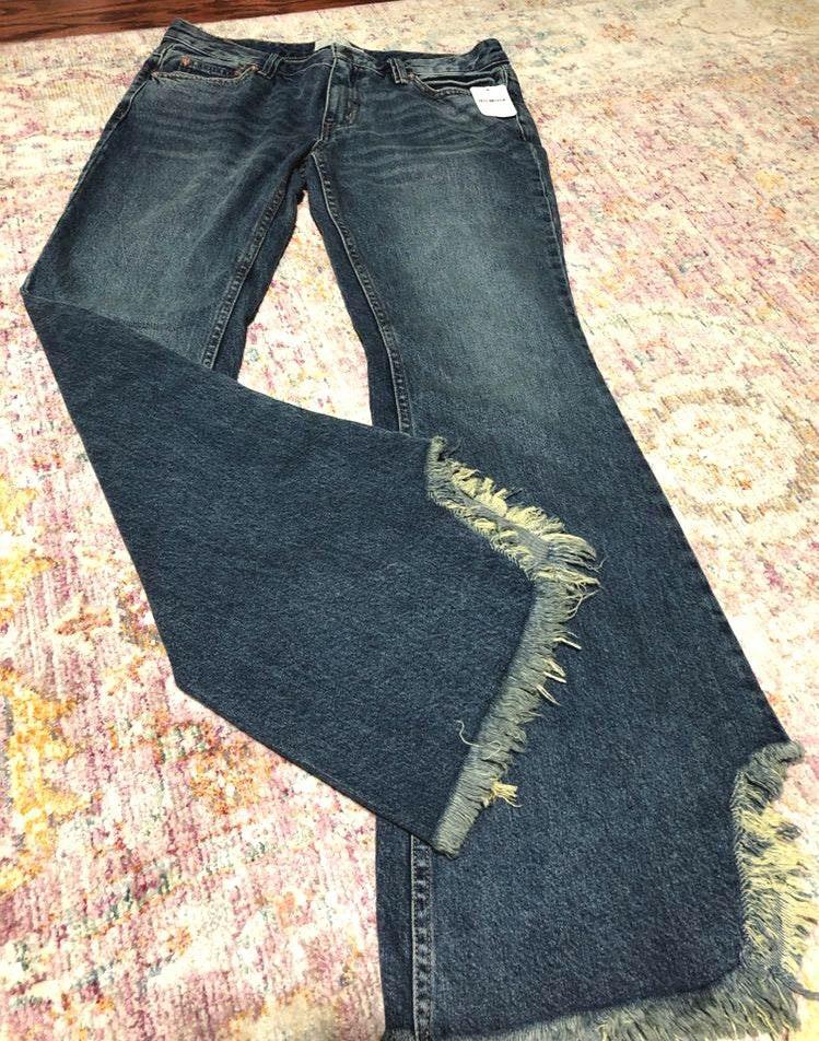Free People Flare Denim Jeans