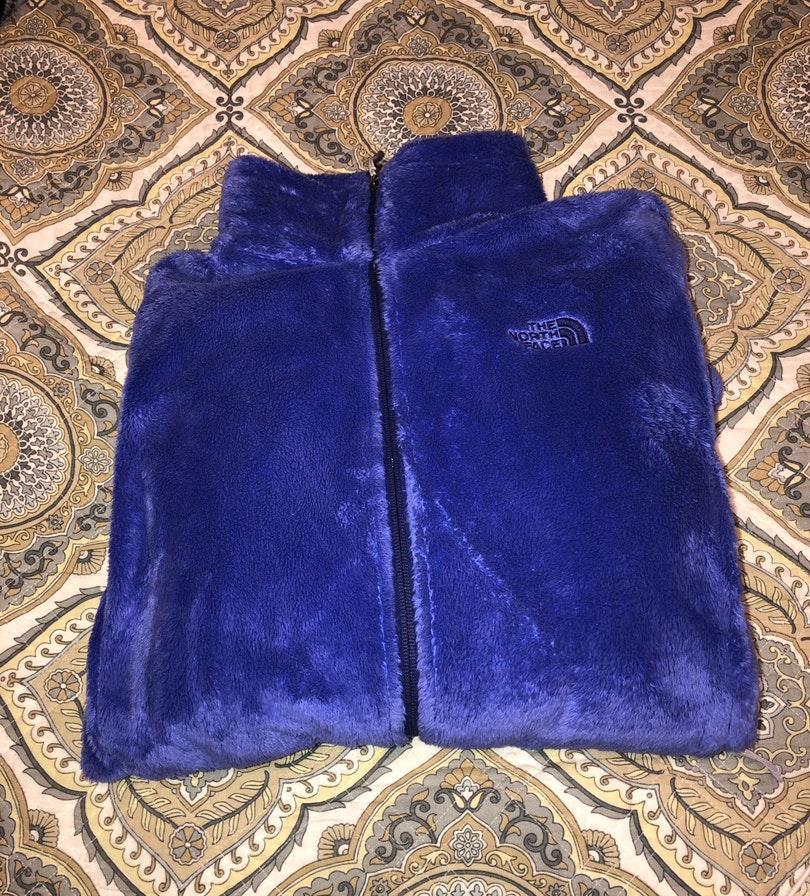 The North Face fluffy fleece jacket