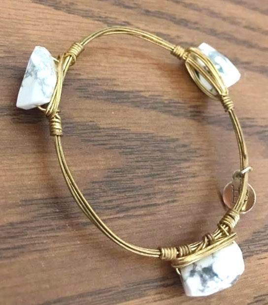 White Rock Metal Bracelt