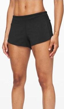 Lululemon Black Workout Shorts