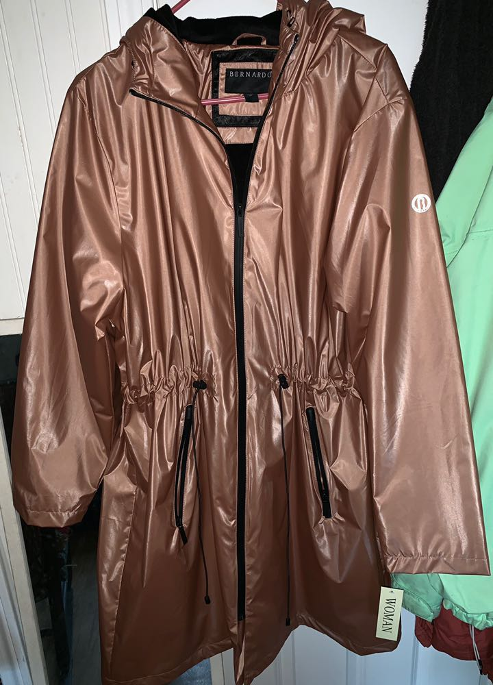 Metallic Rain Jacket