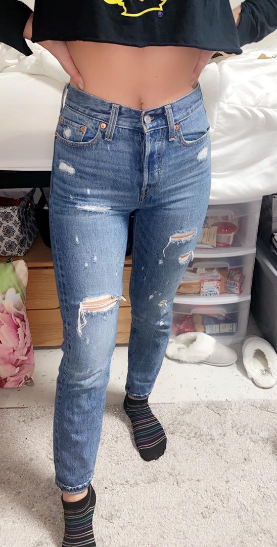 Levi's vintage high waisted 550 jeans