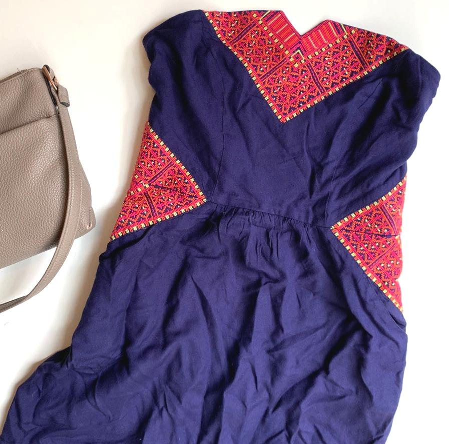 Ecote NWOT  / UO Strapless Summer Dress