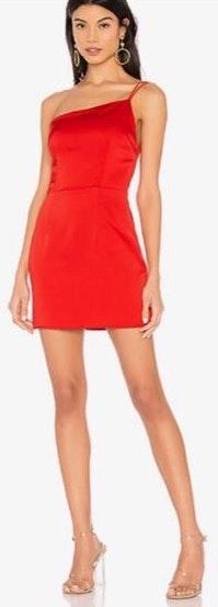 superdown Rubi One Shoulder Dress