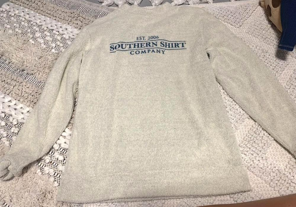 Southern Shirt Company terry cloth long sleeve