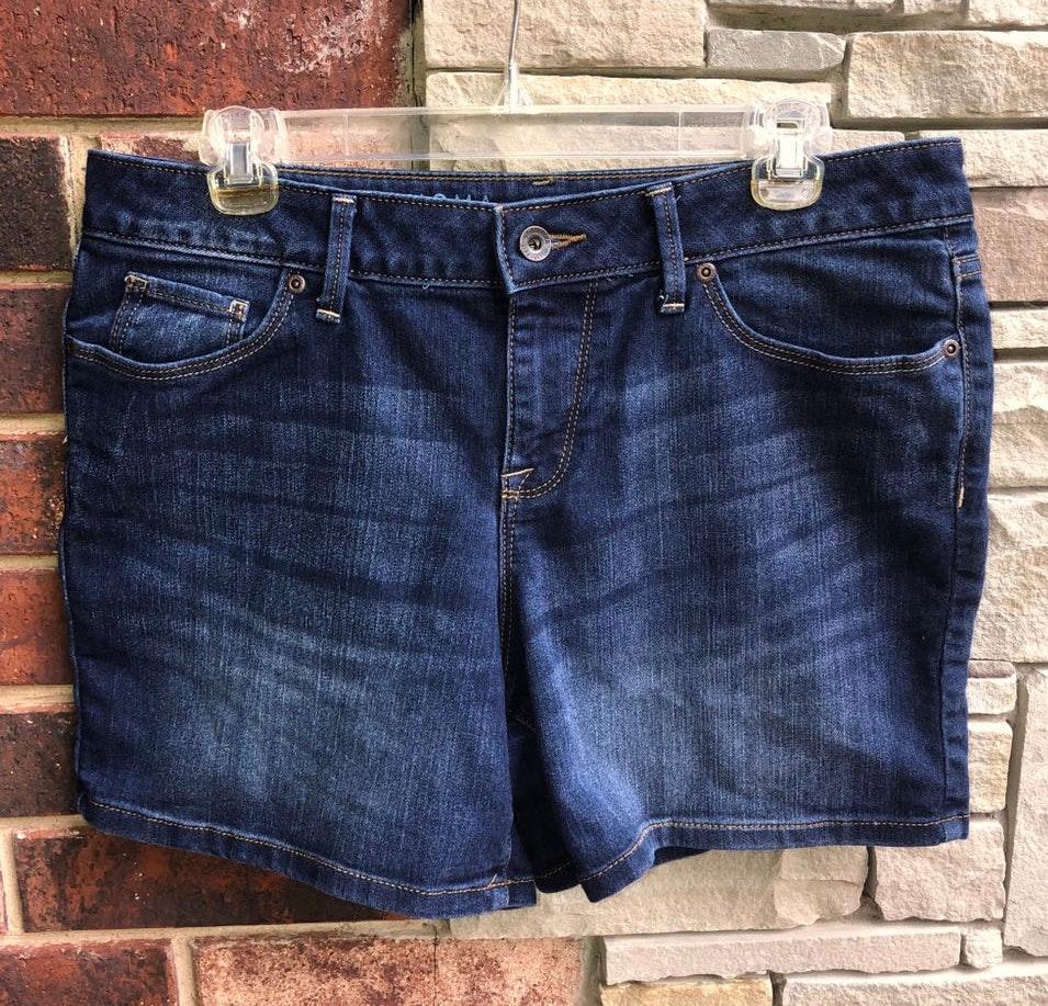 Sonoma Mid Rise Blue Jean Shorts 10