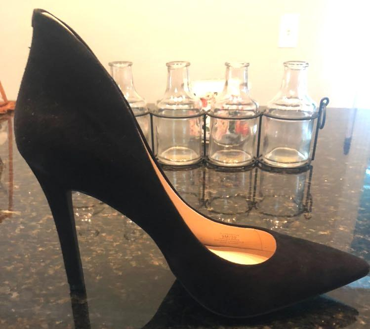 Jessica Simpson Black suede Shoes