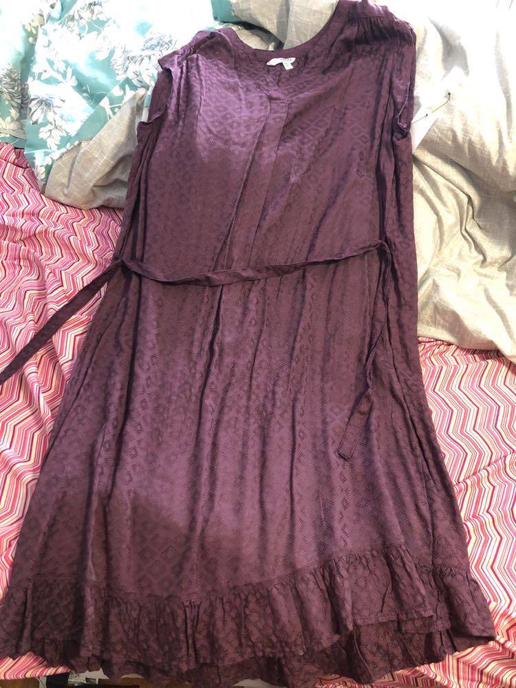 Sonoma Purple Dress