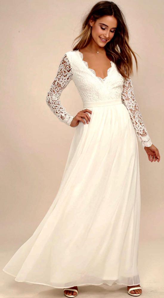 Lulus Wedding Dress