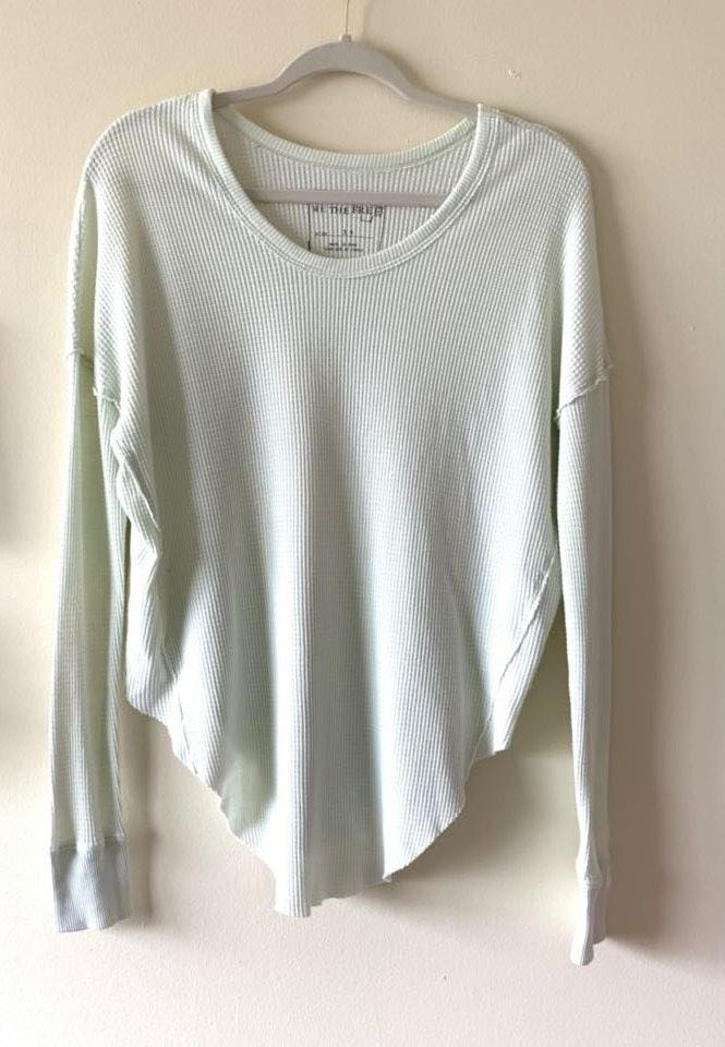 Free People - We the Free waffle thermal top