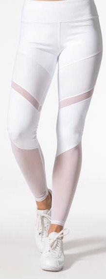 Alo Yoga Alo White Leggings