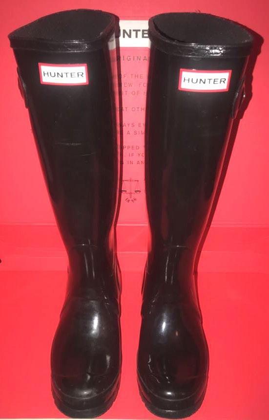 Hunter Women's OG Tall Gloss Rain Boots