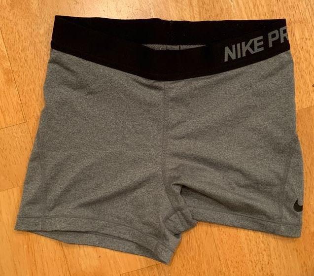 Nike Grey  Pro Shorts
