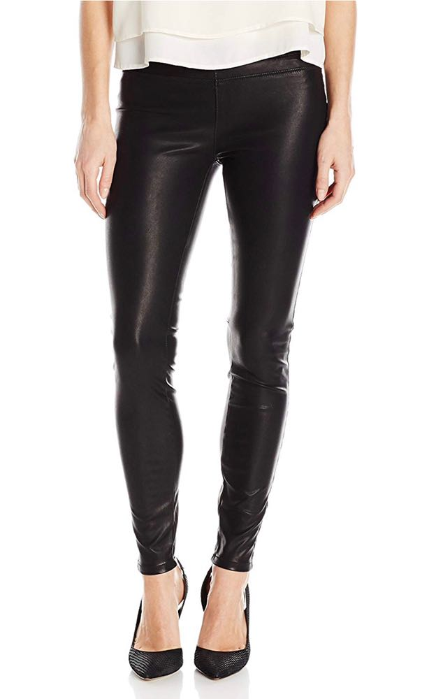 BLANK NYC Women's Pull On Vegan Leather Legging
