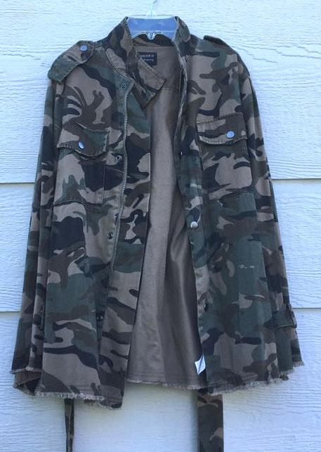 Forever 21 Green, Brown Jacket