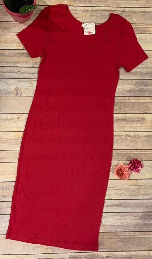 Zenana Red Dre's Lady In Red Dress