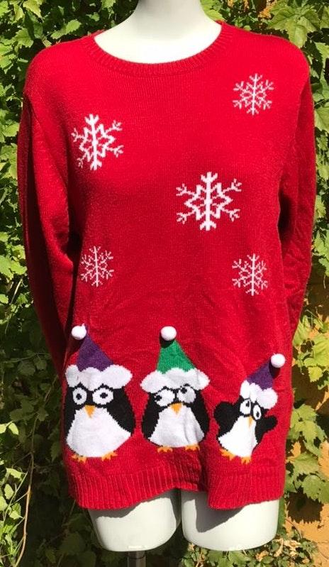 Penguin Ugly Christmas Sweater