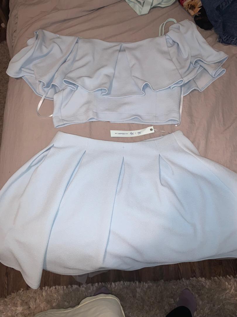 Zaful two piece skirt set
