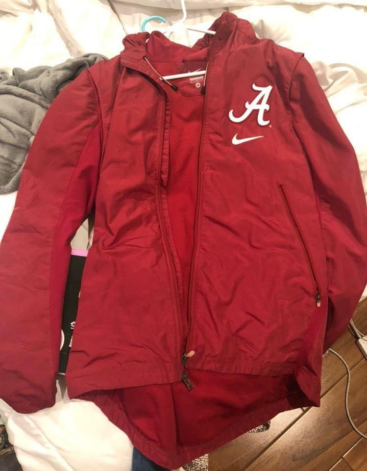Nike Alabama  rain jacket