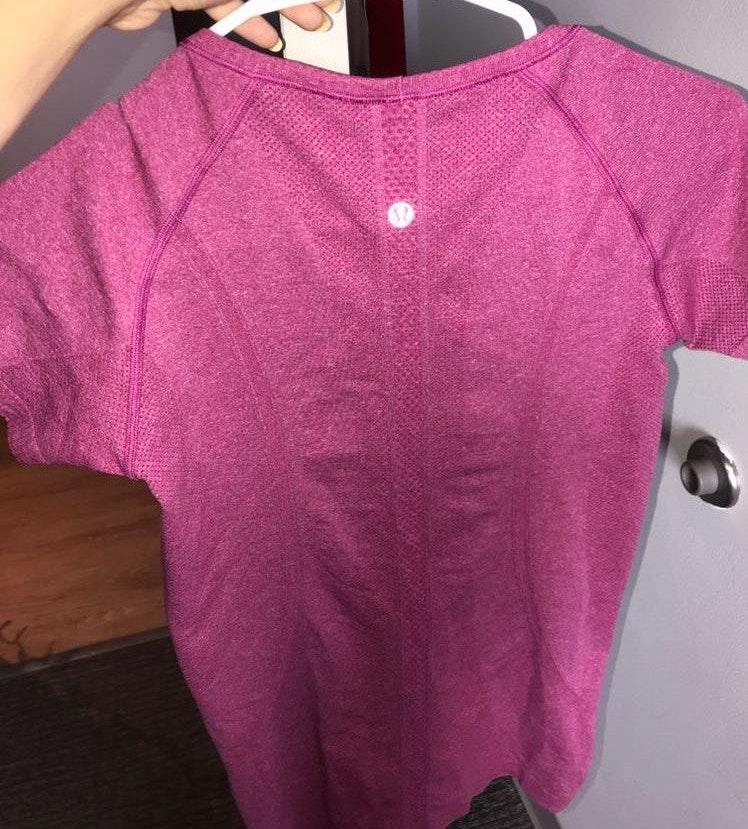Lululemon Pink swift shirt!