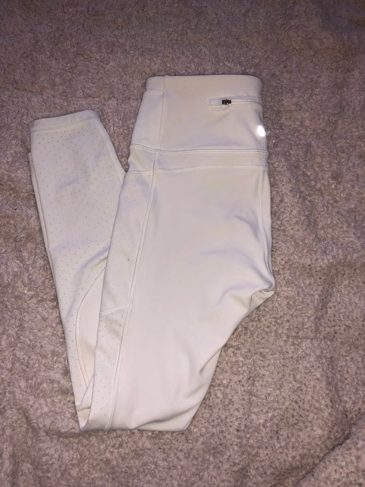 Lululemon White  leggings