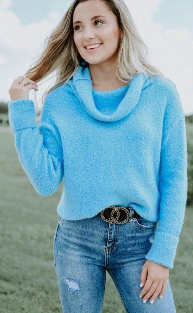 Free People NWT  Stormy Cowl Neck Sweater - XS