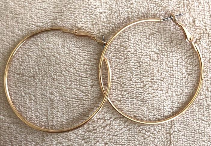 American Eagle Outfitters Gold hoop earrings
