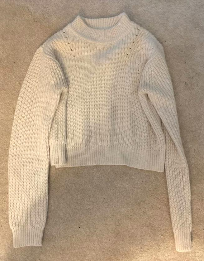 Kendall & Kylie Cropped Turtle Neck Sweater