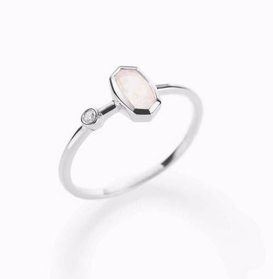 Kendra Scott Chastain Ring In white gold