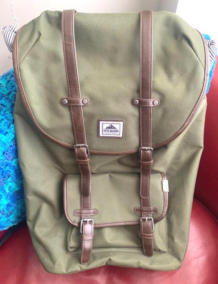 Steve Madden Olive Green Large Pack