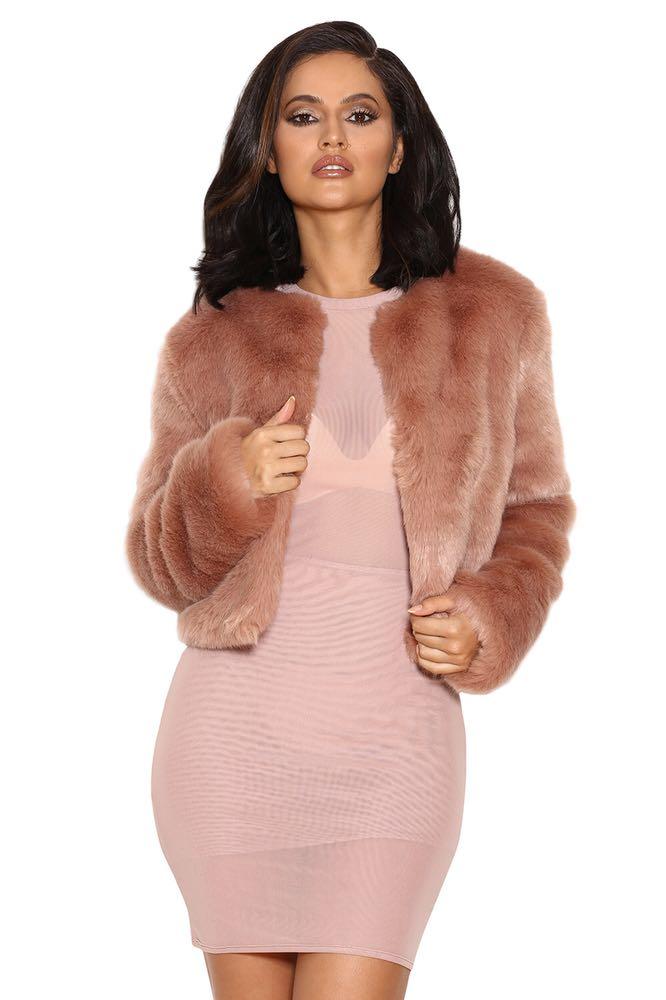 House Of CB Fur Jacket