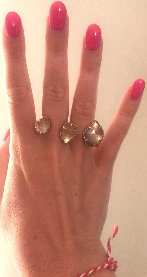 Kendra Scott Double Ring Size 7/8
