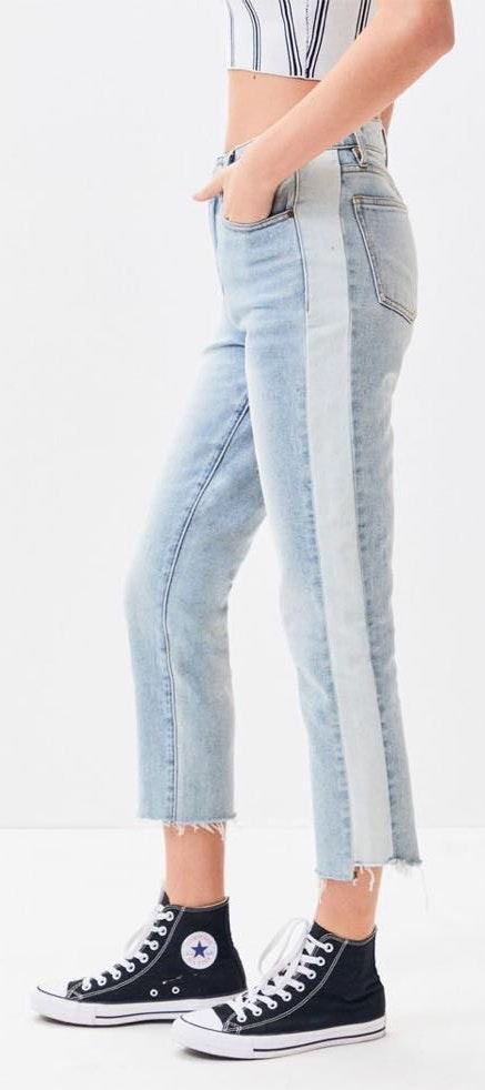 Pacsun Two Toned Mom Jeans